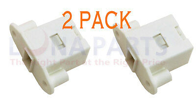 (2 PACK) 137006200 Latch Compatible with Electrolux Frigidaire Kenmore Washer