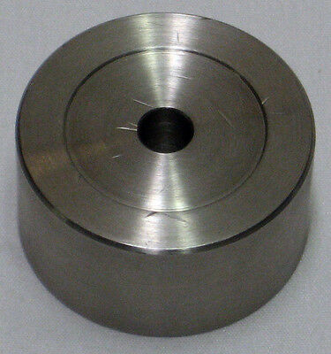 Optical Mount: Stainless Steel Spacer. 3/4 inch thick, 1.5 inch dia. PS4 Eqvt