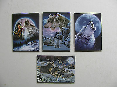 Fridge Magnets Various Sets Theme Wolves Knights Princess Gift Decorative Fun BN