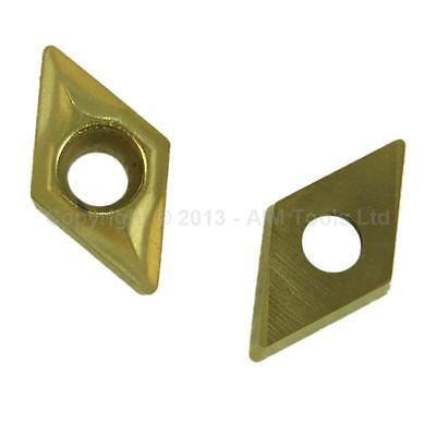 111317A DCMT070204 2Pcs Indexable Inserts For CNC Lathe Cutting Milling Tools