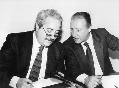 Stampa Su Tela Canvas Falcone E Borsellino 70X50