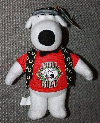 2006 Family Guy Brian Griffin Full Boat Poker Lucky Plush Toy New with Tags