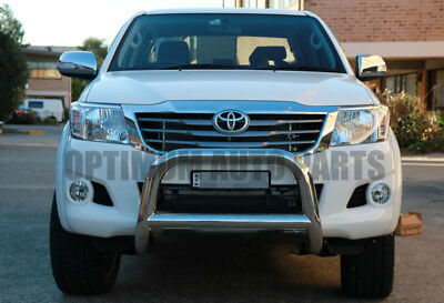 TOYOTA Hilux 2006-2015 Stainless Steel Nudge Bar