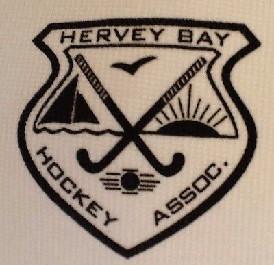Mens Polo Shirt  - Mens Hockey Shirt - Size S - Hervey Bay Hockey Association