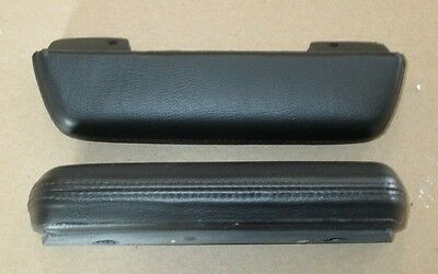 Mopar 1967 Dodge Dart Plymouth Barracuda Armrest Pads  1967 Black or White Only