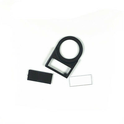 10PCS 22mm Pushbutton Switch Black Plastic Notice Board Cover Label Plate