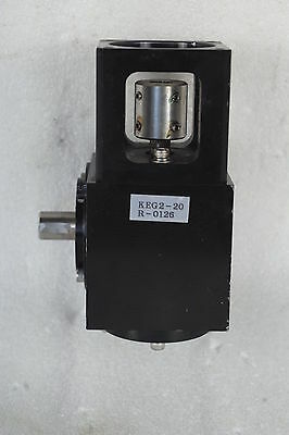 Precision Right Angle Reducer Ratio 20:1 Keg2-20 Good For 4Th Axis Free Ship