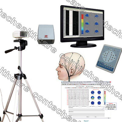 CE KT88-1018 monitor video EEG Digital Mapping System ECG Tre anni di garanzia