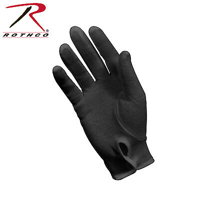 Mens Womens Black Parade Dress Uniform Color Guard Costume Marching Gloves PAIR