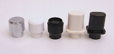 Fender Tele Replacement Switch Tip for USA Selector Switch - Round or Top Hat