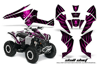Can-Am Renegade Graphics Kit by CreatorX Decals Stickers SCP