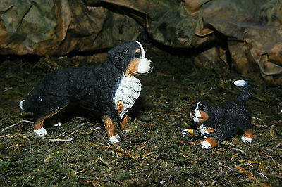 Retired Bernese Mountain Dog Puppy Figurines Farm Schleich Nativity Scene Perro