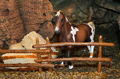 "Retired Schleich Horse Farm Diarama Nativity scence  Figurines for 3.5""  Stallon"