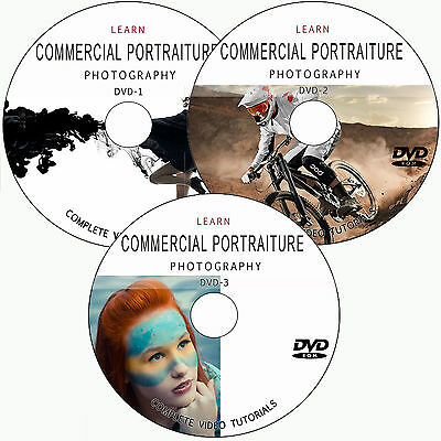 Learn Art Of Commercial Portraiture Training Tutorials 3 Dvd-Digital Photography