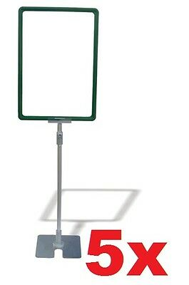 A4 Frame Stand Height Adjustable 700mm - 900mm x5