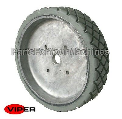 "Oem Viper, 8"" Wheel For Viper Fang 24T, 26T And 28T Scrubbers, Vf81106, New"