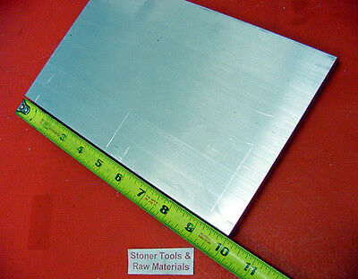 "1"" X 10"" ALUMINUM 6061 FLAT BAR 10"" long Solid T6511 1.00"" Plate Mill Stock"