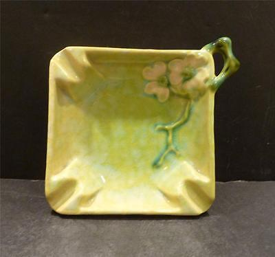 Roseville Wincraft Chartreuse Ashtray, Shape 240T - MINT