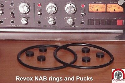 Revox Studer NAB hub adapter overhaul kit