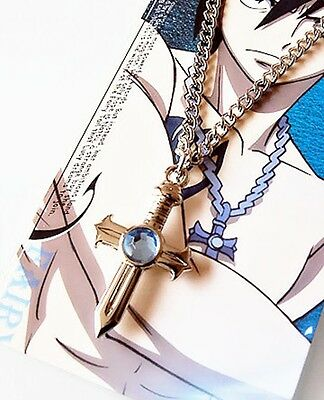 Anime Fairy Tail Gray Fullbuster Cross Necklace Pendant Cosplay Toy
