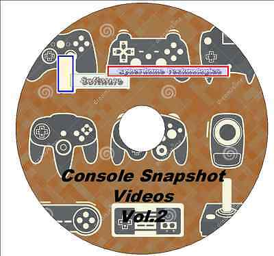 6,046 Console Emulator Snapshot Videos Vol.2 For MAME Frontend 480p 3xDVD's