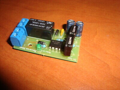 Dc Motor Reverse Polarity Cyclic Timer Switch Time Repeater 165/75 Sec 2A 12V