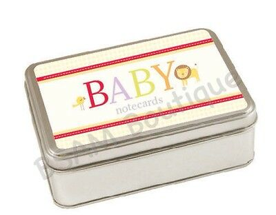 Pepperpot -Alpha Baby, Thank You/ Note Cards in Keepsake Tin