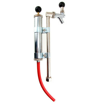 Rod and Faucet Beer Keg Pump - No Coupler - Draft College Party Keg Bar Pub Tap