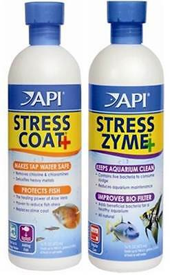 API Stress Zyme and Stress Coat Twin pack 118ml