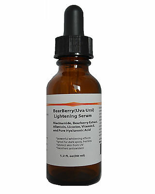 BearBerry(Uva Ursi) Powerful Lightening Serum for Melasma, Hyperpigmentation