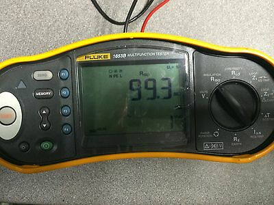 Calibration of Fluke 1653B Electrical Multifunction Tester Service JPSCAL