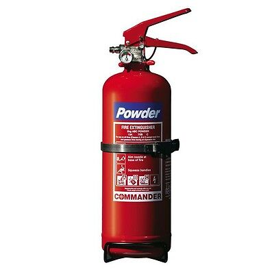 Brand New 2Kg Dry Powder Fire Extinguisher. Boat,car,office,taxi,home. Uk Stock