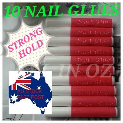 15g Strong Hold Acrylic or Gel Tips Glue with Brush Nail Art