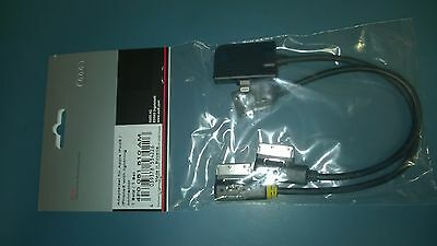 Genuine Audi AMI Cable Set for iPhone 5/6 Lightning Connection & USB Cable