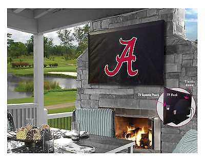 Alabama Crimson Tide NCAA Black Outdoor TV Cover by HBS