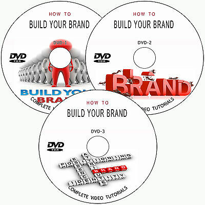 LEARN HOW TO BUILD YOUR BRAND PHOTOGRAPHY BUSINESS TRAINING TUTORIALS ON 3 DVD's