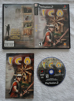 Ico  (Sony PlayStation 2, 2001) - Complete - PS2