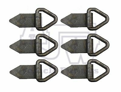 6 X Triangular Heavy Duty Lashing Ring Trailers Recovery Truck Body Tie Down
