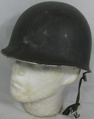 "USA M1 Combat Helmet Non-Magnetic Shell with Danish ""CF"" Liner"