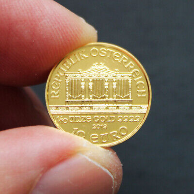10 euro or Autriche 1/10 once or Vienna Philharmonic Gold coin 1/10 oz