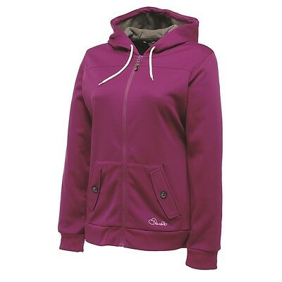 Women's Dare 2B 'mesmerise' Hoodie Top. Colour Plum Pie.