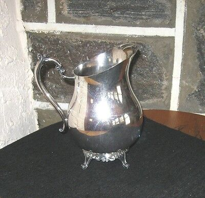 Silver plate pitcher Rogers silver co. Nice clean old Pitcher