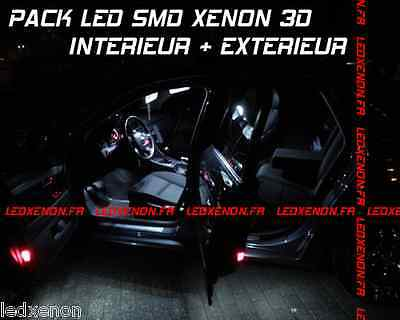 20 Ampoule Led Smd Xenon Opel Zafira B 2005-2008 Pack Tuning Kit Complet