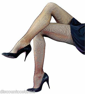 541caef34cc43 Neon Pink Footed Fishnet Stockings Tights Panty Hose Adult Costume Accessory