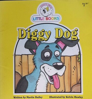 Cocky's Circle Little Books,       Diggy Dog,      GC~P/B       FAST~N~FREE POST