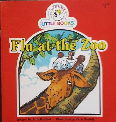 Cocky's Circle Little Books,     Flu At The Zoo,     GC~ P/B    FAST~N~FREE POST