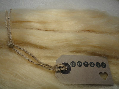 30g (approx.1oz) MOHAIR. LIGHT BLONDE- Straight