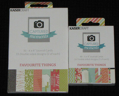 Kaisercraft Captured Moments 'FAVOURITE THINGS' (You choose) KAISER *1 left*