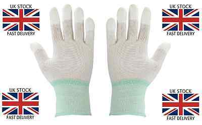 Large Cleanroom Gloves - Finger Tip Coate -250 off - Job Lot £120 = £0.48 Pair