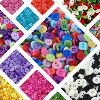 ☆☆ 100 x Small Mixed Buttons - Bulk, Art, Scrapbooking, Card Making, Crafting ☆☆